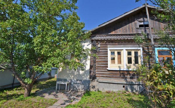 Часть жилого дома в деревне Калеево Волоколамского района
